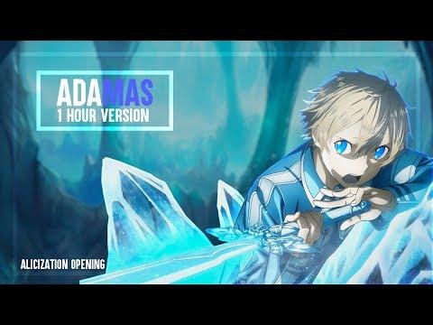 Sword Art Online: Alicization Opening -「ADAMAS」by LiSA (1 Hour)