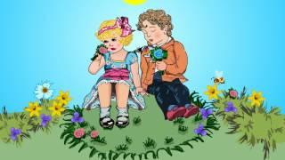 Милая видео открытка поздравление пожелание подруге, девочке, женщине.8 марта.Счастья вам девочки!