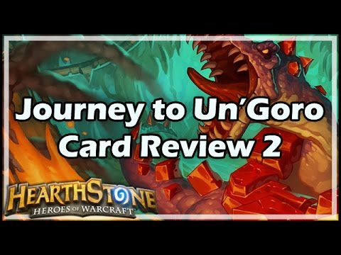 [Hearthstone] Journey to Un'Goro Card Review 2