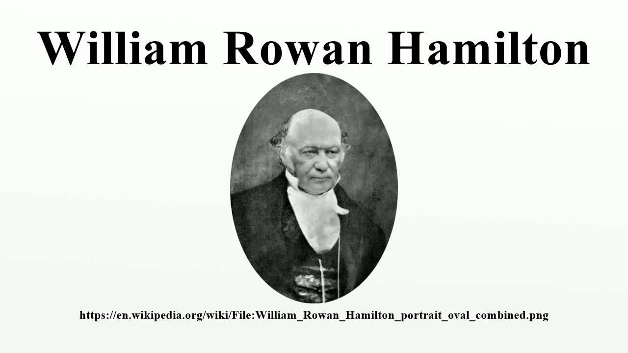 ウィリアム・ローワン・ハミルトン