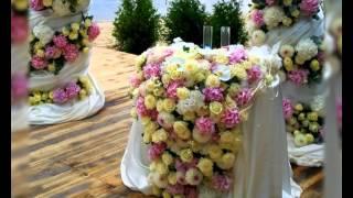 видео Оформление свадьбы шарами - FLORA DECOR - оформление праздников
