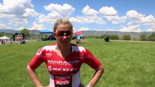 Bahrain Endurance 13 - Jodie Swallow at 70.3 Boulder