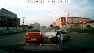 Жестокие Аварии в Ставрополе 2014. Сrash compilation