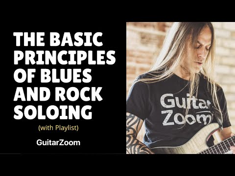 Guitar Masterclass: Basic Blues and Rock Soloing