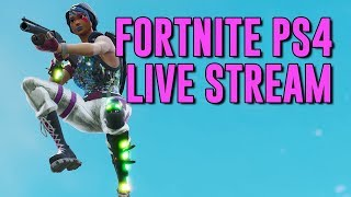 Viewer Record: 350 Viewers at 3:29:31   Fortnite PS4 Live