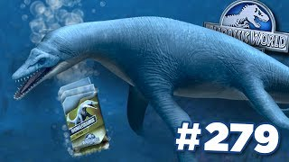 NEW RHOMALEOSAURUS + FREE DNA!!! || Jurassic World - The Game - Ep279 HD