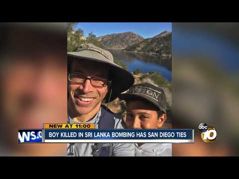 MORNING NEWS - 11 Year Old Boy Killed In Sri Lanka Has San Diego Ties