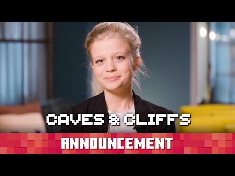 A Caves & Cliffs Announcement - Minecraft