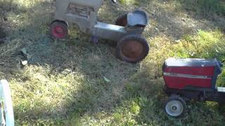 Antique Pedal Tractors & More, I Found At This Farm