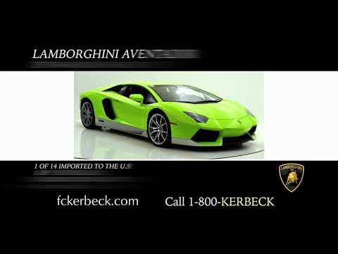 Lamborghini Dealer Featuring Lease Payments on New Lamborghini's