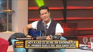 Fernando Carrillo en vivo toca y canta en Este es el show