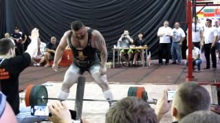 Yarymbash deadlift 400 kg IPA Worlds 2012