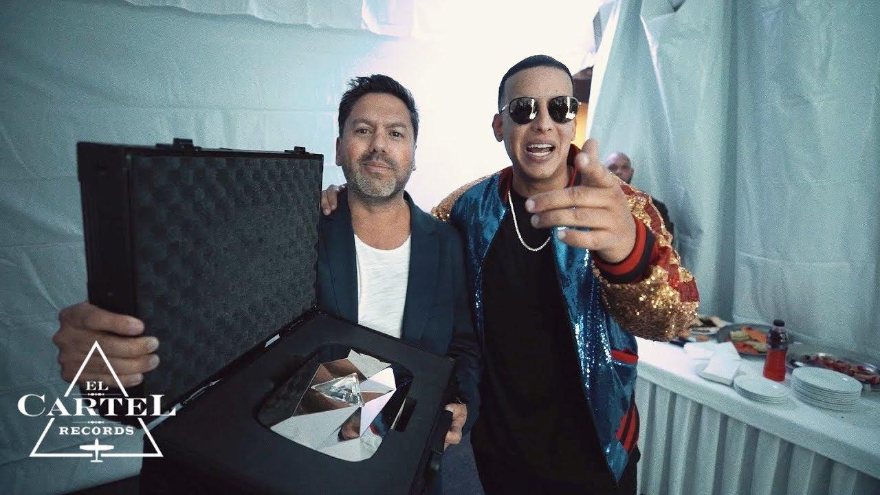 Download Daddy Yankee -  Diamond Creator Award (Behind the Scenes)