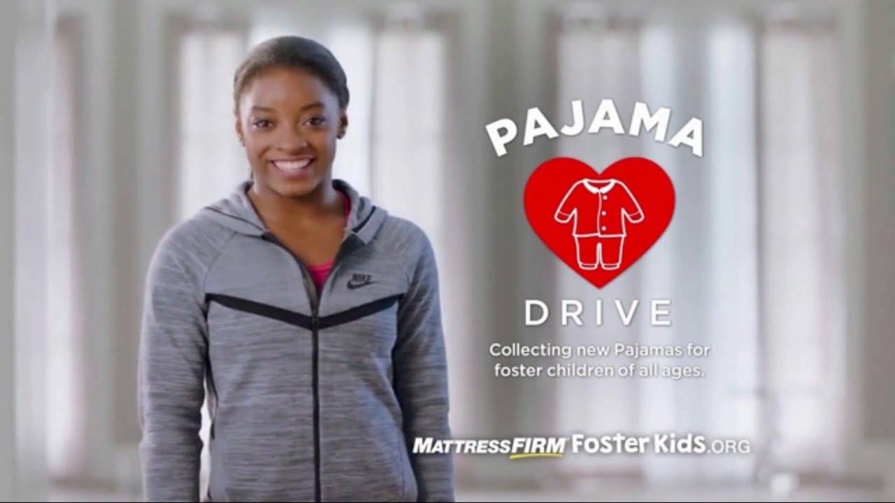 Mattress Firm Foster Kids Campaign Pajama Drive Ad