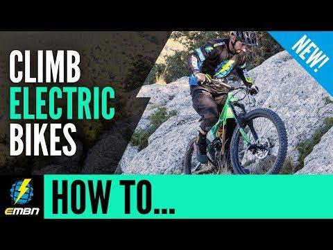 How To Climb On An E Mountain Bike   E-MTB Climbing