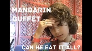 What It's Like To Eat At Mandarin | Buffet