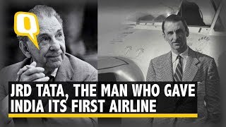 JRD Tata: The Aviation Pioneer Who Gave India Its First Airline– Tata Airlines  | The Quint