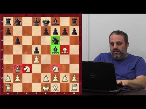 Diagonal Attacks on the Uncastled King with GM Ben Finegold