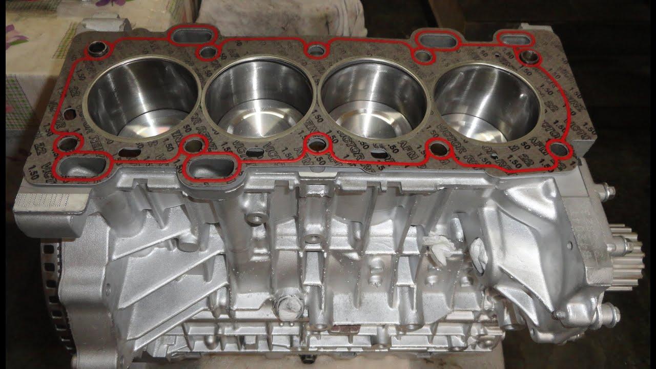 Volvo S40 T4 - Reconstrução do Motor (Engine Rebuild ...
