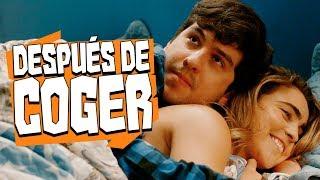 DESPUÉS DE COGER