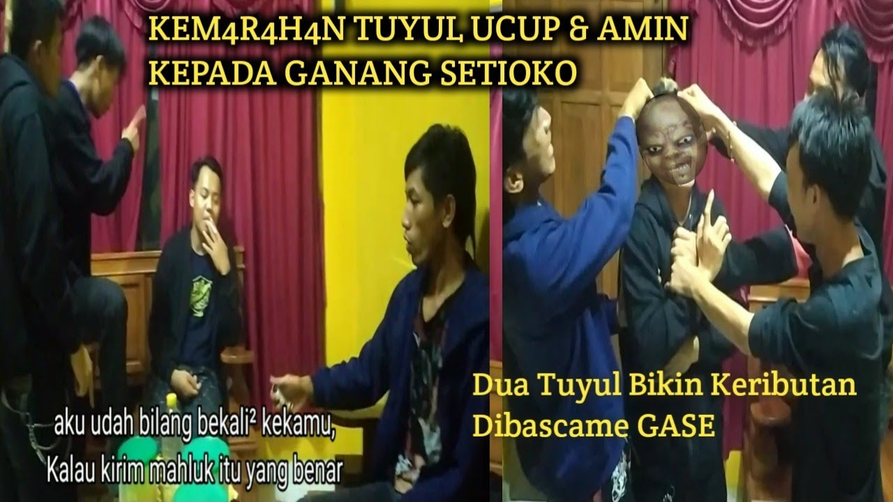 Download GANANG SETIOKO DILABRAK TUYUL UCUP & AMIN MINTA PERTANGGUNGJAWABAN