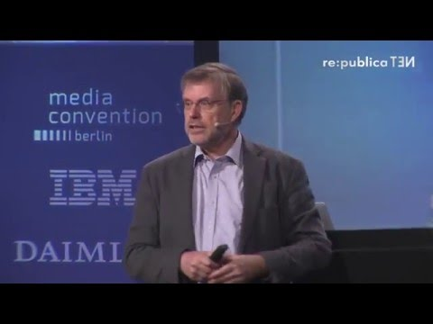 re:publica 2016 – Gunter Dueck: Cargo-Kulte on YouTube