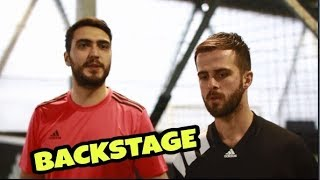 LA PARTITA DI CALCETTO - BACKSTAGE