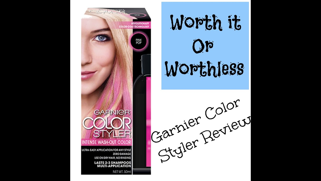 Garnier Color Styler Review Worth It Or Worthless Wed Youtube