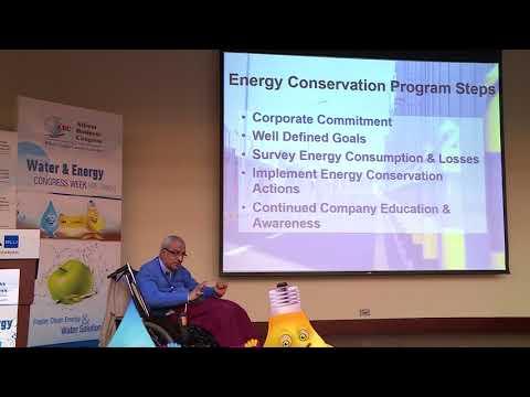 Mr. Sadru Dada at the 3rd Annual Water & Energy Congress
