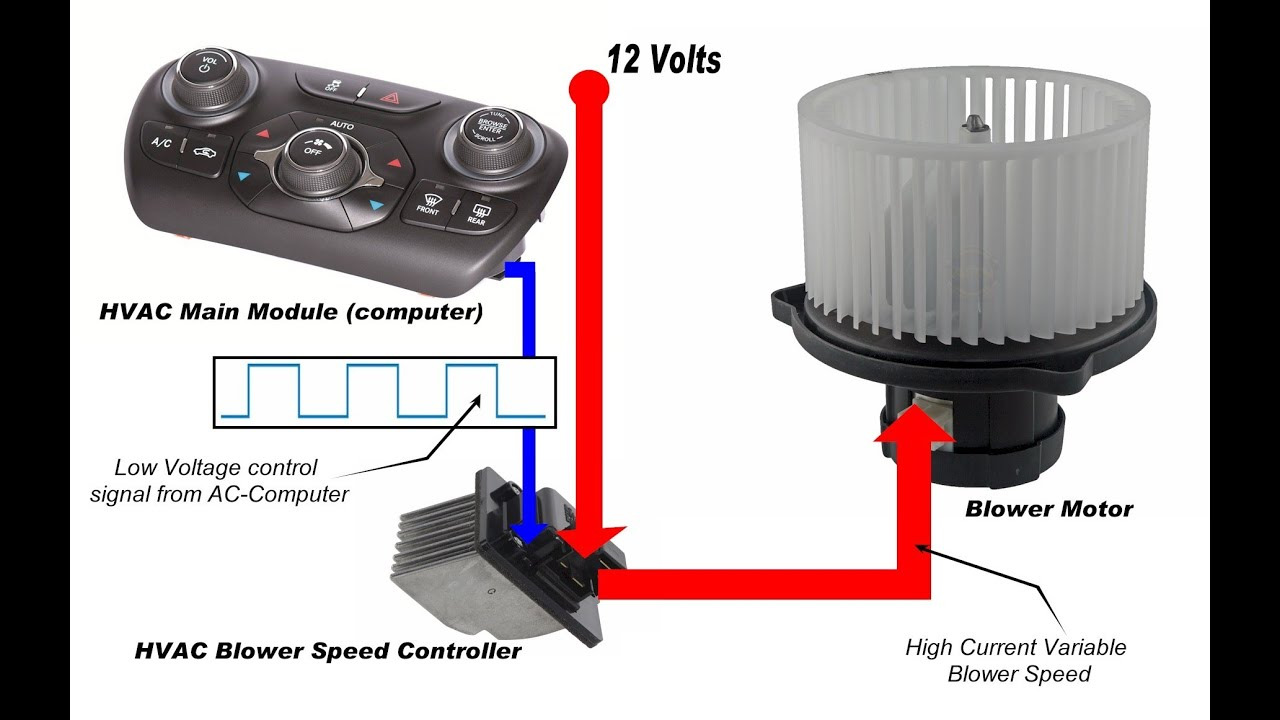 HVAC Blower Motor & Circuit  YouTube