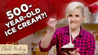 I Tried To Make 500 Year Old Stretchy Ice Cream • Tasty