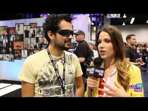 Vidcon 2013 -Stuart talks with Mystery Guitar Man - Joe Penna