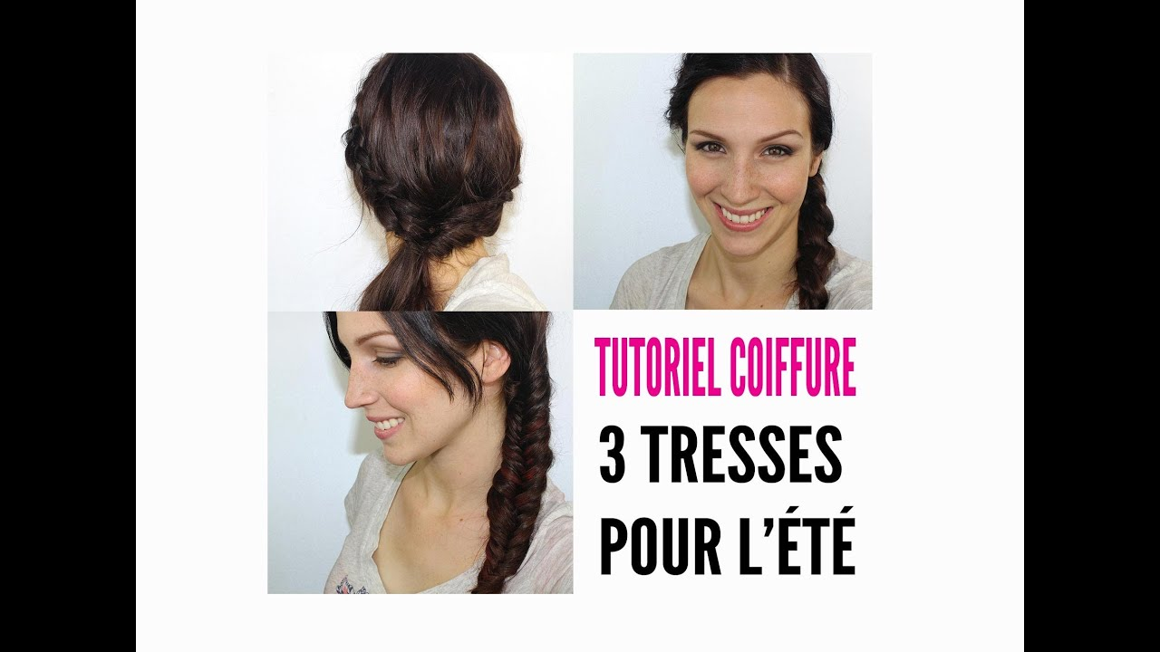 tutoriel coiffure facile 3 tresses tendance youtube. Black Bedroom Furniture Sets. Home Design Ideas