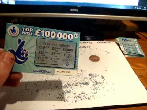 100 UK National lottery scratch cards - Is it worth it ????