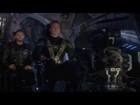 "NEW AVENGERS ENDGAME FOOTAGE ""SPACE"" TRAILER TV SPOT"