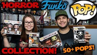 Horror Funko Pop Collection!!!