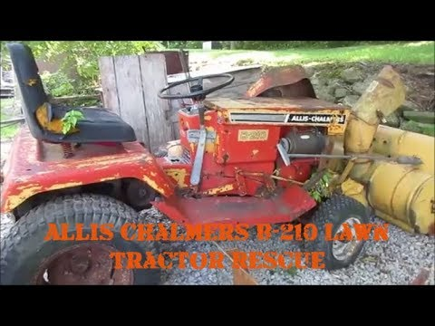 Repeat simplicity and allis chalmers lawn and garden trac by