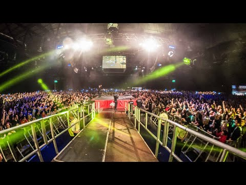 Remember the wrestler who uses 'Like a Prayer' as his entrance music? He just made an entrance to his biggest ever crowd on Sunday. Sold out venue of wrestling fans singing their hearts out to Madonna