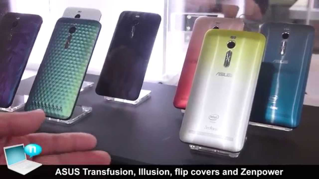 the latest c8d1a 2f951 ASUS Zenfone 2 accessories: Illusion covers, Transfusion covers, Flip  cover, Zenpower power bank