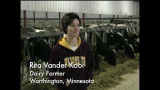 Meet Rita Vander Kooi: A Dairy Farmer from Worthington, Minnesota