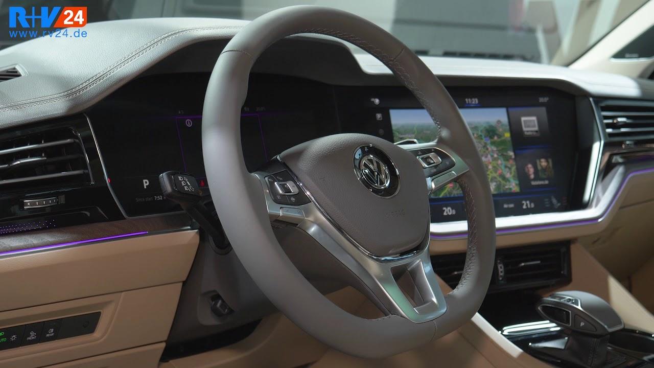 Sitzprobe im neuen VW Touareg 2018 inkl. Innenraum-Check ...