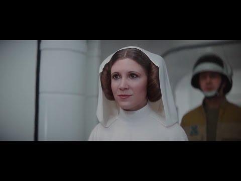 Princess Leia Ending Scene - Rogue One: A Star Wars Story (2016) (HD)