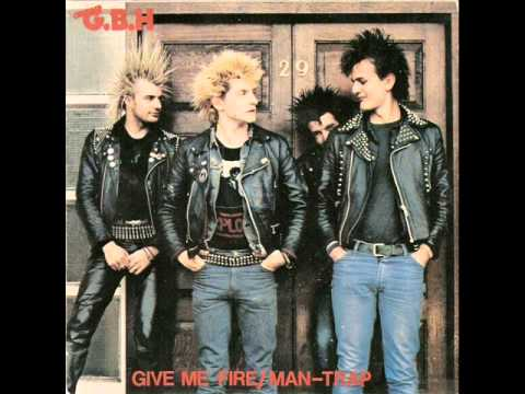 GBH - Give Me Fire / Man-Trap EP
