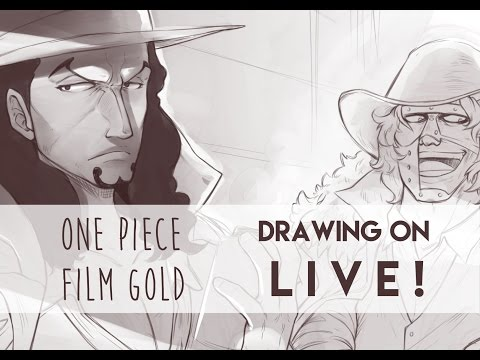 Drawing on direct! (One Piece Film GOLD - CP9)