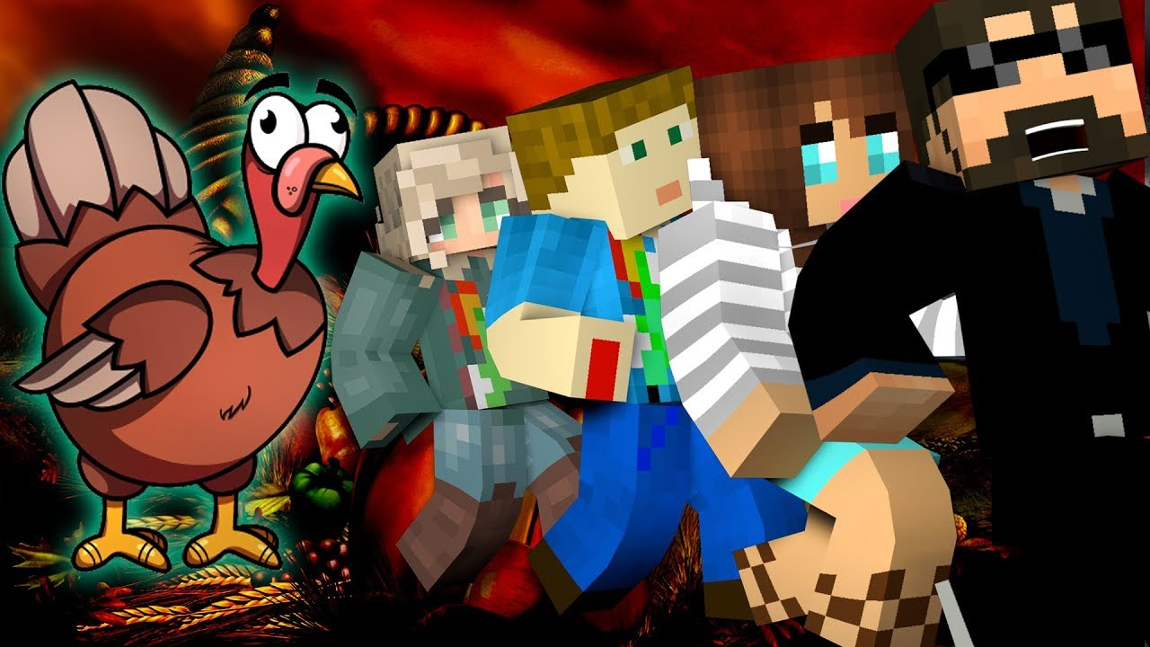 Minecraft: THANKSGIVING MURDER | MODDED MINI-GAME