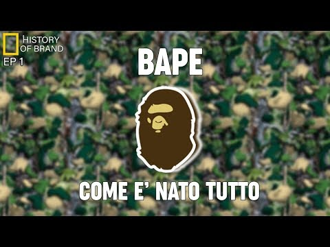 BAPE: COME È NATO TUTTO-History of Brands EP1