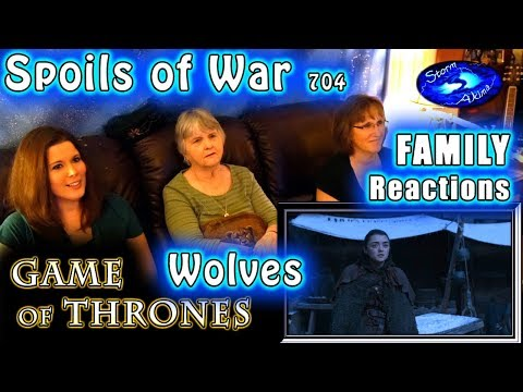 Game of Thrones | 704 | The Spoils of War | FAMILY Reactions | WOLVES | 1