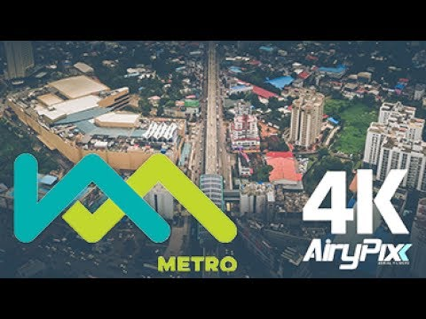 Kochi Metro from Heights | 4K Drone Video