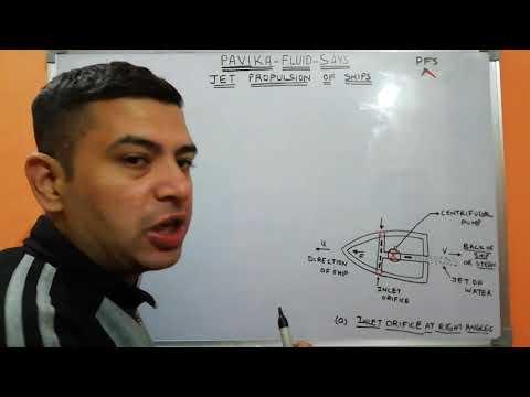 Jet propulsion of ships