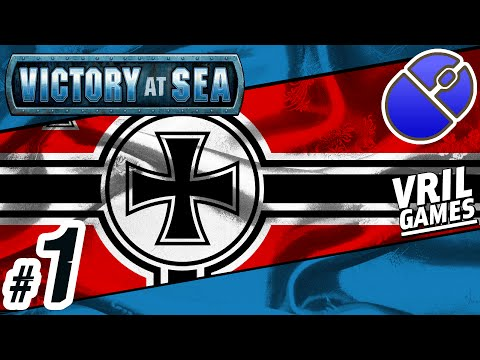 Let's Play Victory at Sea | Kriegsmarine ✠ | Atlantic Campaign #1